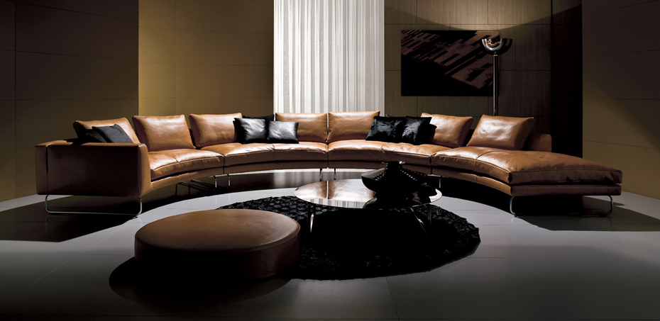 italienische ledersofas add look von i4mariani design. Black Bedroom Furniture Sets. Home Design Ideas
