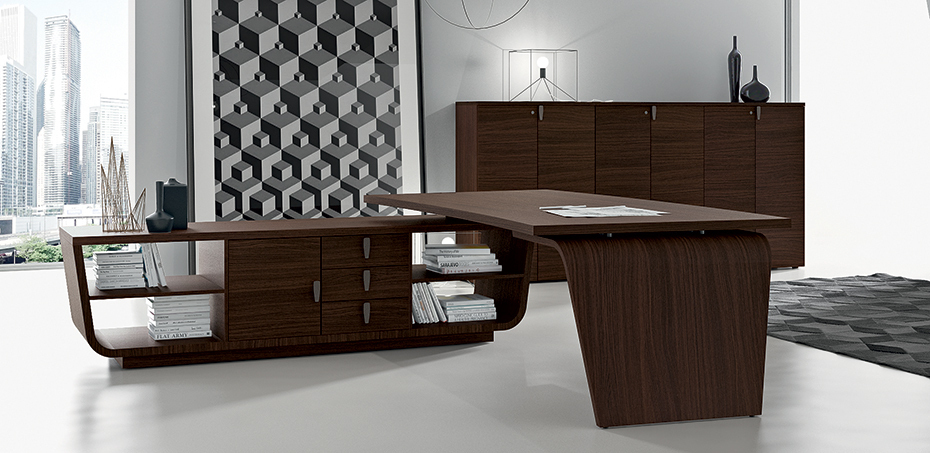 larus moderne schreibtische von della rovere. Black Bedroom Furniture Sets. Home Design Ideas