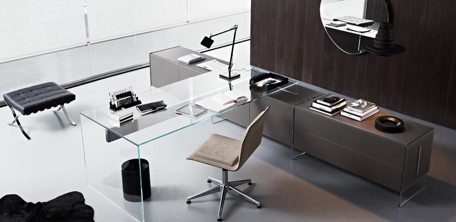 Eckschreibtisch design  Schreibtisch Air Desk von Gallotti & Radice, Design Pinuccio Borgonovo