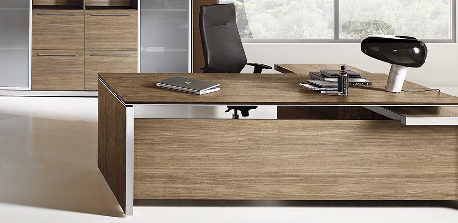 Eos Chefschreibtische von Las Mobili, design Giovanni Giacobone