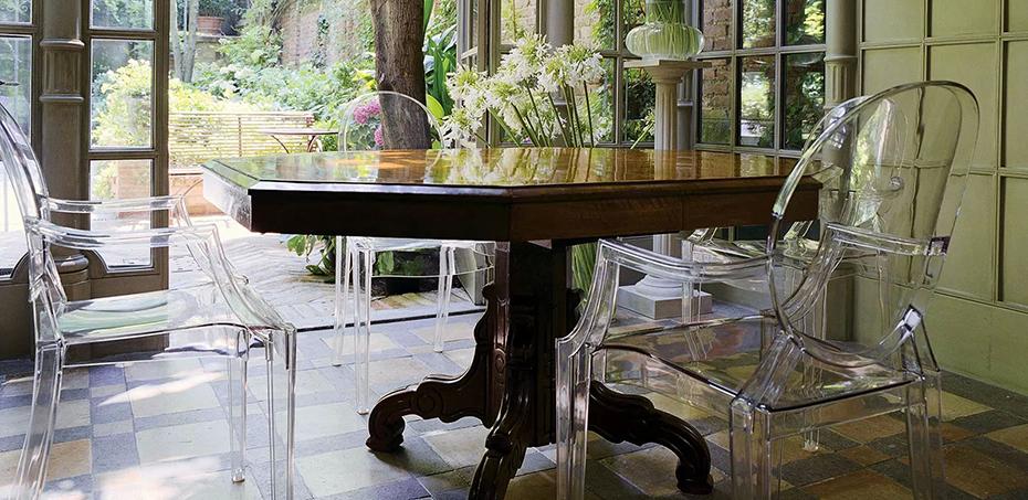 Louis Ghost Design-Stühle von Kartell