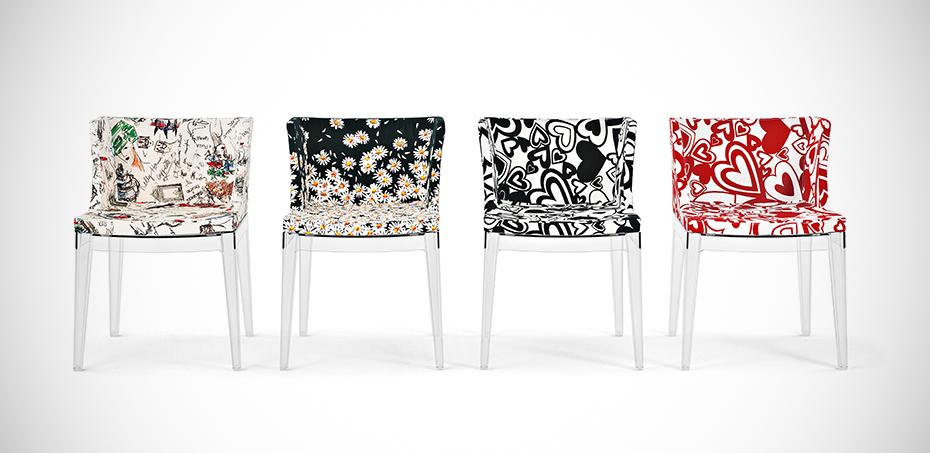 mademoiselle design st hle von kartell design philippe starck. Black Bedroom Furniture Sets. Home Design Ideas