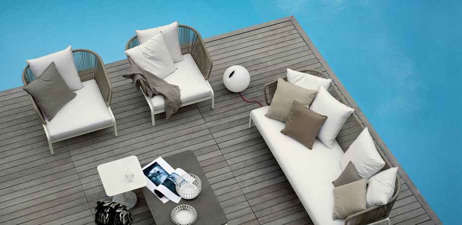 outdoor m bel spool von roda design rodolfo dordoni. Black Bedroom Furniture Sets. Home Design Ideas