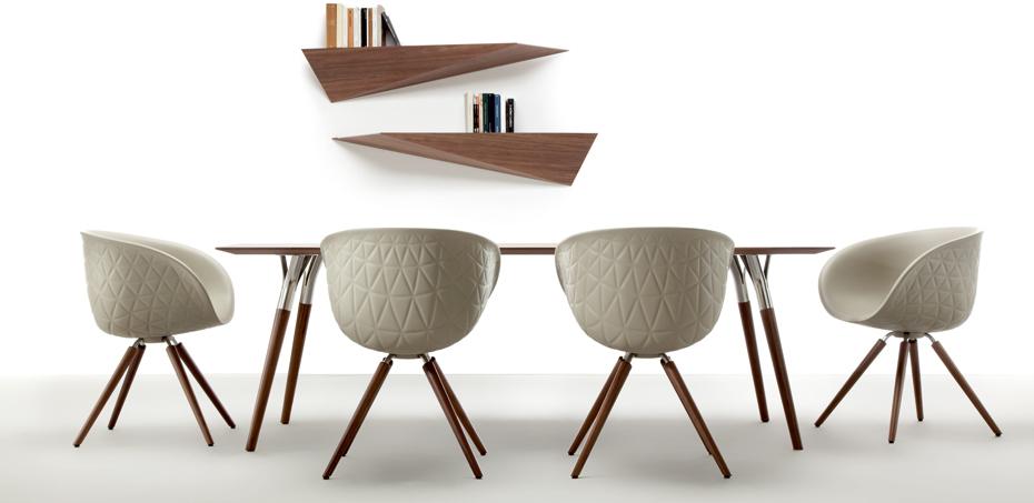 holz stuhl structure von tonon. Black Bedroom Furniture Sets. Home Design Ideas