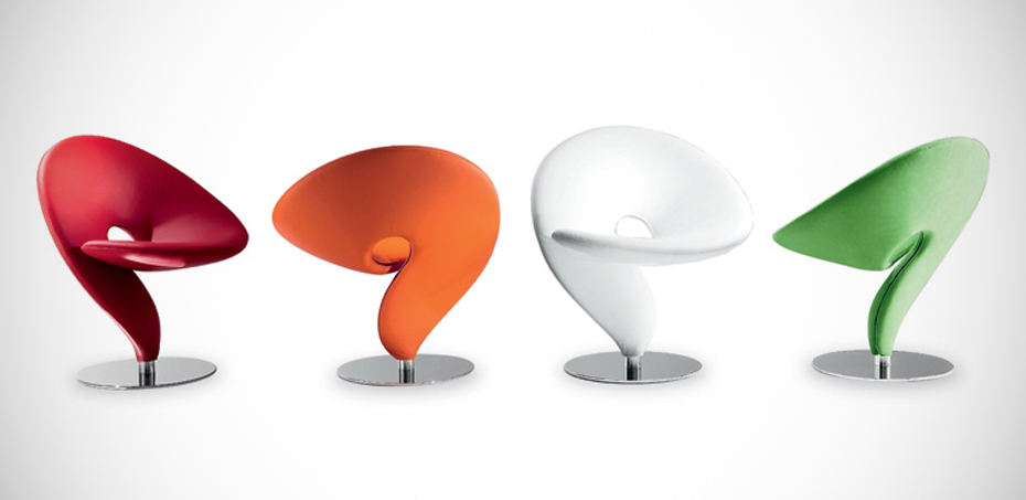 Design stuhl question mark von tonon designer stefan heiliger for Sedie design italia