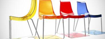 bunte st hle made in italy regenbogenfarben f r zuhause und objekteinrichtungen. Black Bedroom Furniture Sets. Home Design Ideas